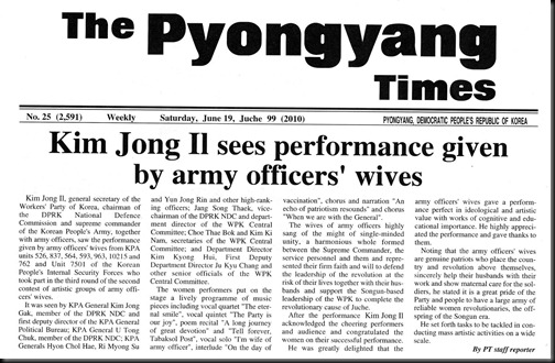 PyongyangTimes-OfficersWives