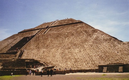 Mexico - Teotihuacan - Pyramid of the Sun